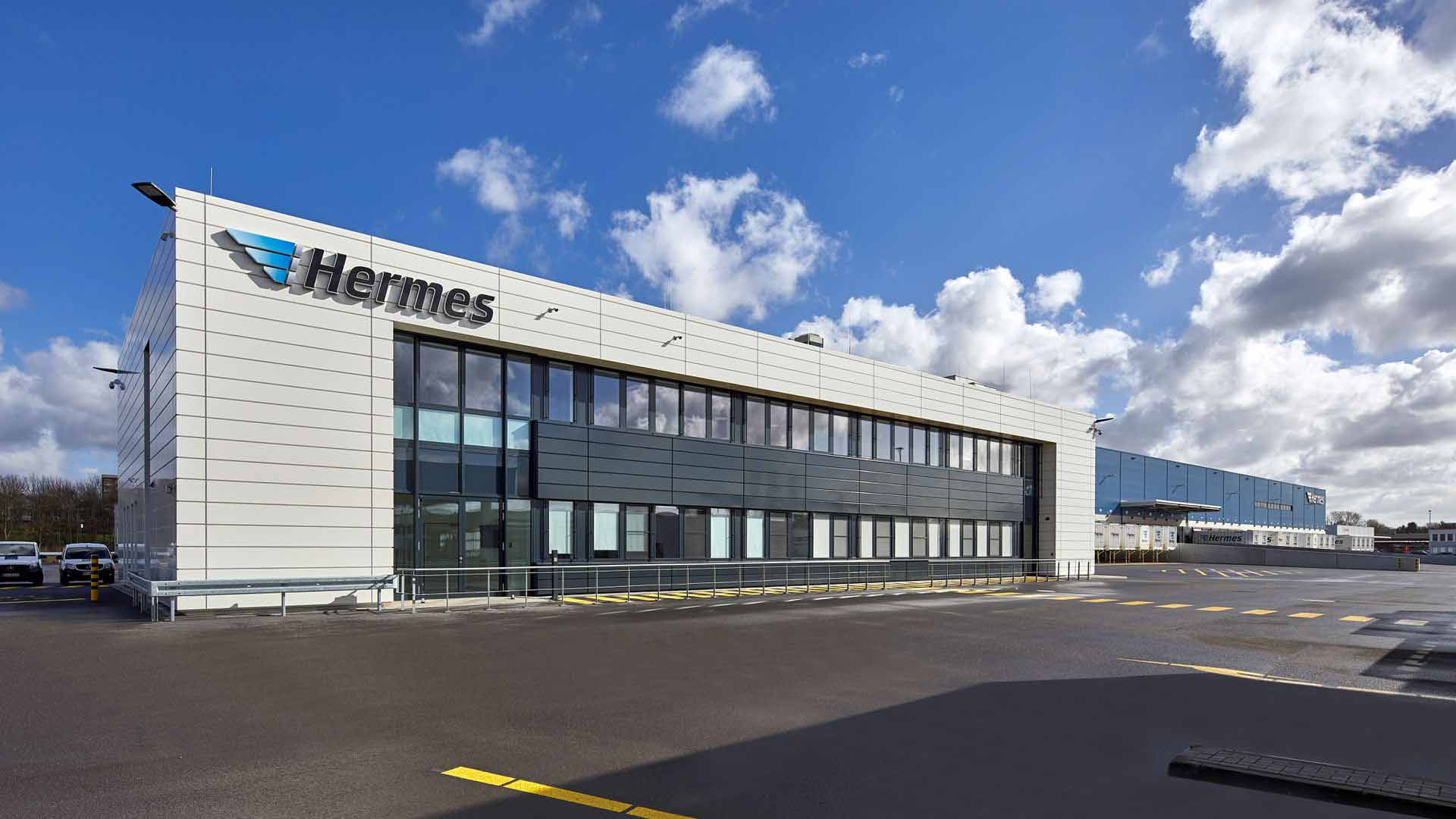 Hermes Logistic Center in Hamburg Billbrook