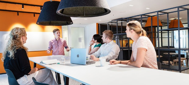 Co-Working-Spaces bei ECE